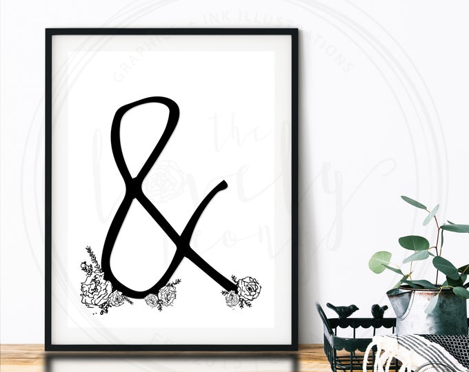Digital Print - Ampersand
