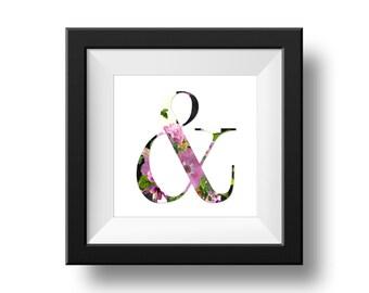 Digital Print - Ampersand & More...