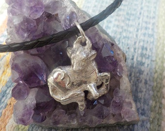 Sterling Silver Lunar New Year of the Ox Pendant