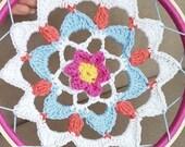 Crochet dream catcher, ma...