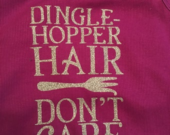 Dinglehopper Hair Don't Care shirt - Disney Inspired shirt - Little Mermaid shirt - Hair don't care - Mermaid hair