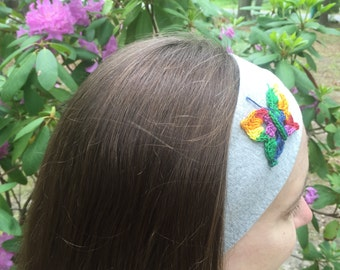 Butterfly Sports Headband- Benefits Brain Cancer Research