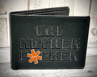 Midnight Edition BMF ® Wallet Embroidered 100% Genuine Quality