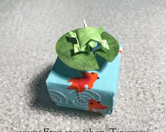 Tiny Box Turtle Box with Elevated Lily Pad