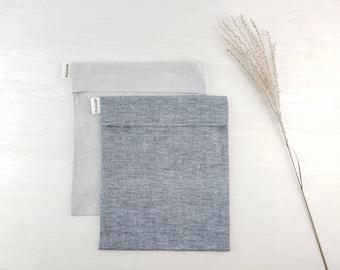 Washable cover for your therapeutic square compress | Hemp & organic cotton