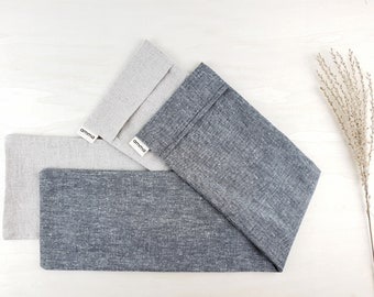 Washable cover for your long wrap compress | Hemp & organic cotton