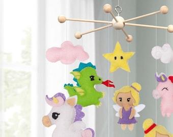Baby Mobile, Wooden Mobile DIY Kit, Crib Mobile DIY, Wooden Mobile Baby, DIY Baby Mobile Kit, Crib Mobile Hanger, Nursery Mobile, Diy Mobile