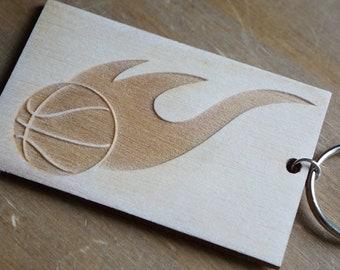Wooden basketball | Etsy