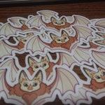 Vinyl Waterproof Sticker:// Small Bat