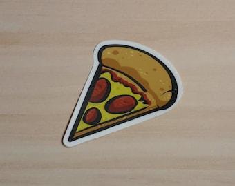 Vinyl Waterproof Sticker://Pizza Slice Sticker
