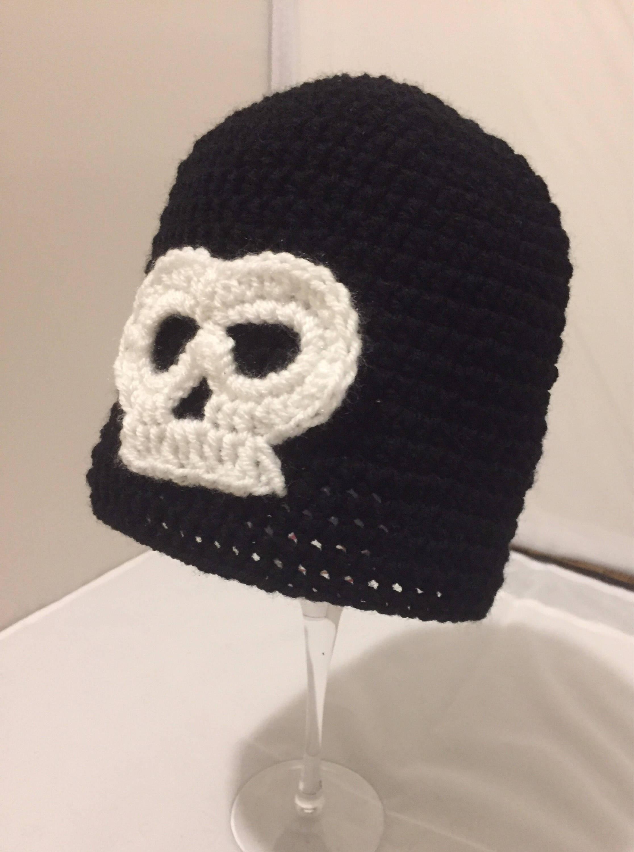 7fdc18aedadc0 Halloween Skull beanie hat    Halloween Beanies    Halloween
