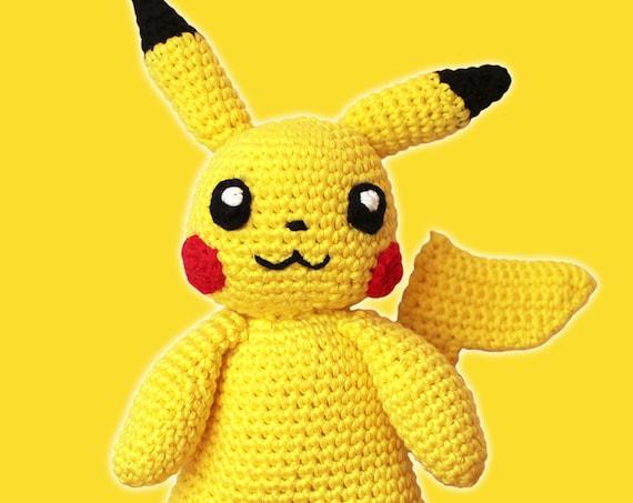 Pikachu - Pokemon. Amigurumi Pattern PDF.