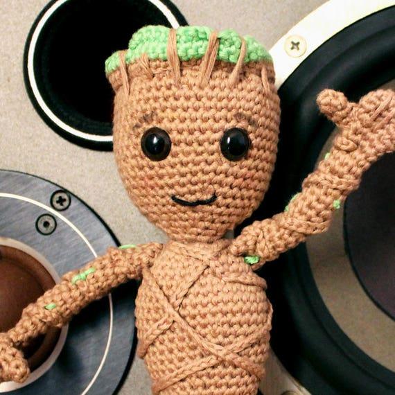 Baby Groot - Soft Toys. Amigurumi Pattern PDF.