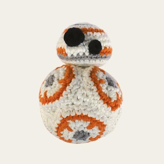 BB-8 - Star Wars. Crochet Doll, Amigurumi Toy, Crocheting, Made to Order, Droid, Robot, Spherical, Geek, Gift, Cinema