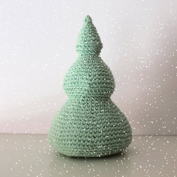 Christmas Tree - Christmas Toys. Crochet, Handmade, Amigurumi Toy, Made to Order, Decorative Art, Cute Gift, Home Decor, DIY, Winter Crafts