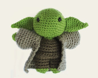 Yoda - Star Wars. Amigurumi Pattern PDF, DIY, Crafts, Crochet Pattern, Grand Master, Jedi Order, Doll, Geek, Gift, Cinema, Instant download