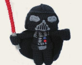 Darth Vader - Star Wars. Amigurumi Pattern PDF, DIY, Crafts, Crochet Pattern, Jedi, Anakin, Dark Side, Geek, Gift, Cinema, Instant download