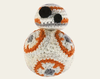 BB-8 - Star Wars. Amigurumi Pattern PDF, DIY, Crafts, Crochet Pattern, Droid, Robot, Spherical, Doll, Geek, Gift, Cinema, Instant download