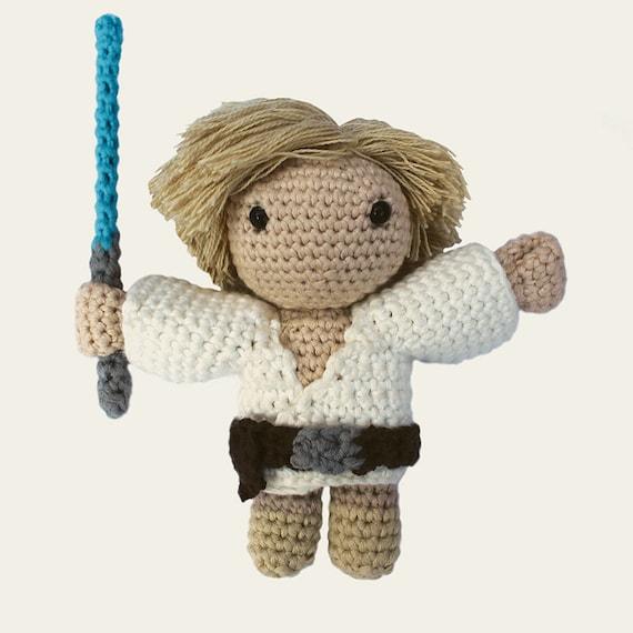 Luke Skywalker - Star Wars. Amigurumi Pattern PDF.