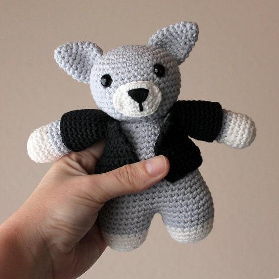 Cat - Animalius. Crochet Doll, Amigurumi Toy, Crocheting, Made to Order, Animal Crochet, Cute Children Gift, Nursery Doll, DIY, Art Crafts