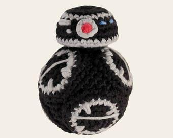 BB-9E - Star Wars. Amigurumi Pattern PDF, DIY, Crafts, Crochet Pattern, Droid, Robot, Children, Nerd Doll, Geek, Kids Gift, Instant download