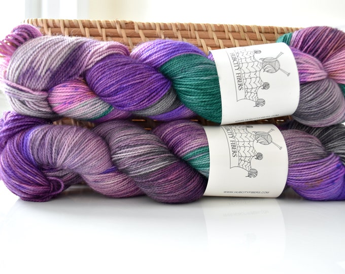 Footloose duets bfl wool fingering weight yarn