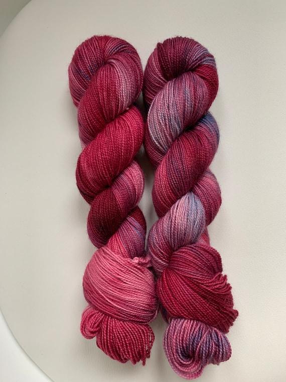 Footloose duets bfl wool fingering weight yarn