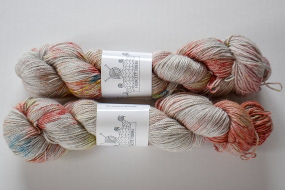 "ALPACA: ""circus"" hand painted yarn, handpainted yarn, superwash BFL yarn,nylon, sock yarn, kettle dyed yarn, fingering"