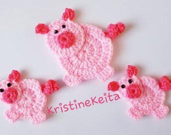 Peppa pig au crochet avec toute sa famille ! - Elise lovecraft | 270x340