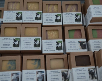 Clearance Goat Milk Soap, Variety Scents Goat Milk Soap, Smaller Size Handmade Soap, Phthalate Free, Bar Soap, Essential Oils, Fragrance