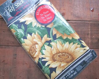 Sunflower Wallpaper Border Self Stick Borderlines Sunworthy Brand 5 Yards