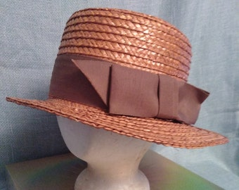 Chic Vintage Straw Hat