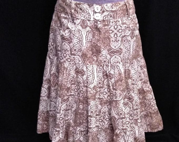 Made in the UK Miss Etam Cotton Skirt