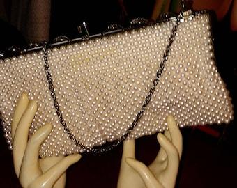 Vintage Pearl Handbag from Tokyo