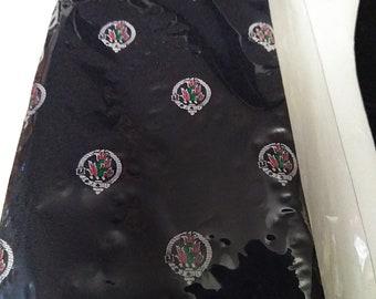 Vintage Ingles Buchan Scottish Souvenir Necktie