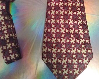 Vintage 40's Handmade Silk Tie