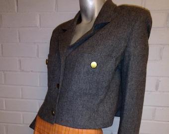 Vintage 90's Wool Crop Jacket