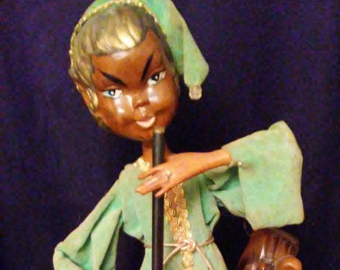 Vintage Musical Aladdin Pixie