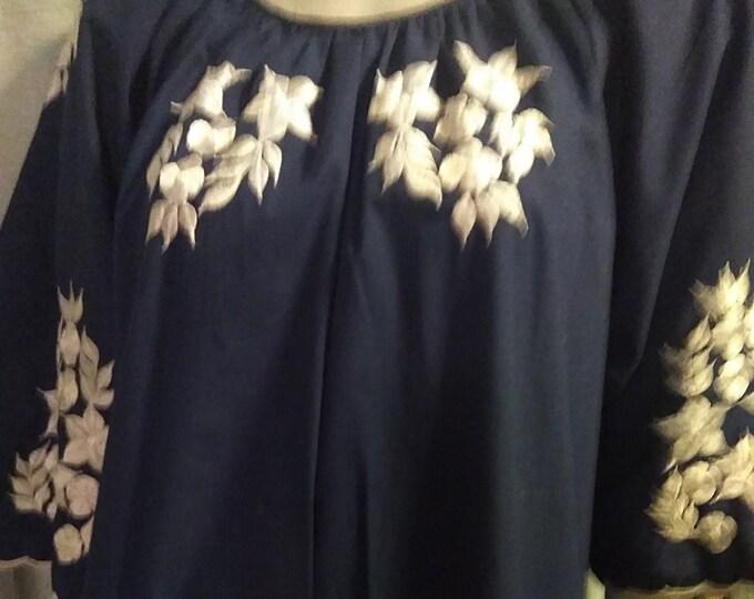 Stunning Embroidered Lounger Dress