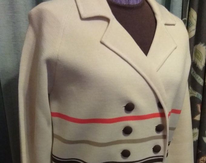 Vintage 60's Puccini Wool Knit 3-Piece Suit  Hong Kong