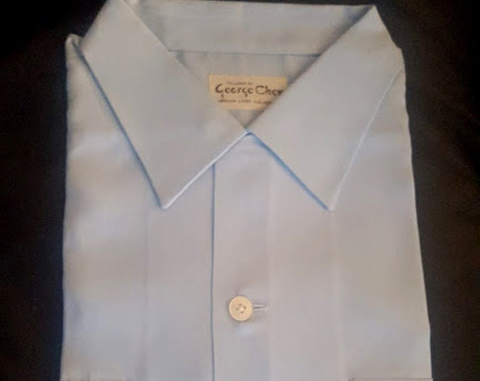 Vintage 60's Hand-Tailored Shirt - George Chen Hong Kong