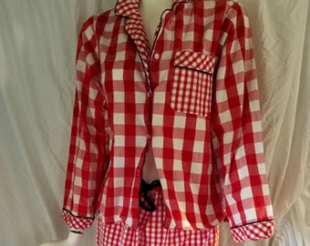 Rare Y2K Tommy Hilfiger Cotton Trouser Pajamas