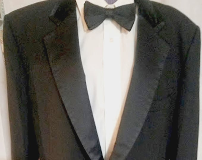 Vintage 80's After Six Tuxedo Dinner Jacket 44R