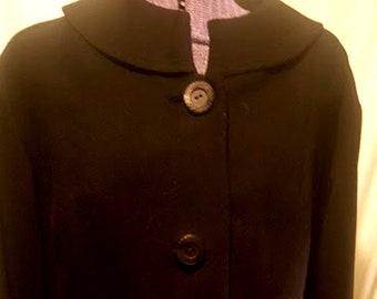 Vintage 1950's Worsted Wool Tailored Jacket