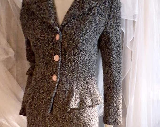 Vintage 80's Breakin Loose Knit Suit