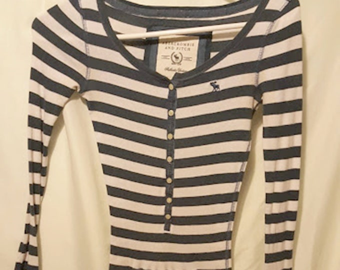 90's Abercrombie & Fitch Striped Tee