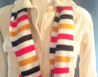 Vintage 70's Knit Scarf