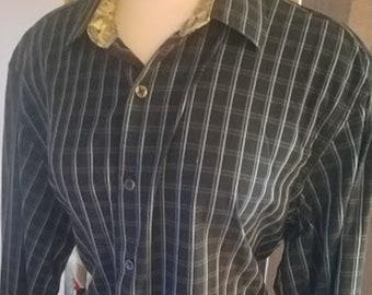 Men's Mod Vintage Cotton Shirt