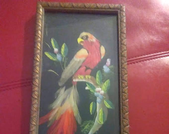 Vintage Feather Art