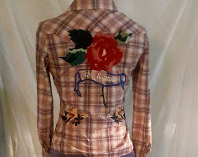 Embroidered Cowboy Shirt